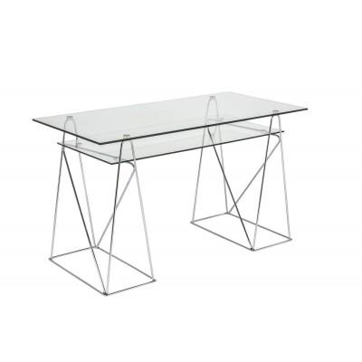 Mesa Peaks. Estructura hierro cristal. Transparente.