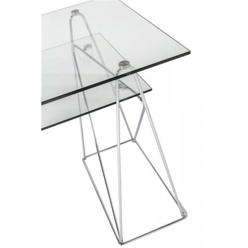 Mesa Peaks. Estructura hierro cristal. Transparente. Camino a Casa.