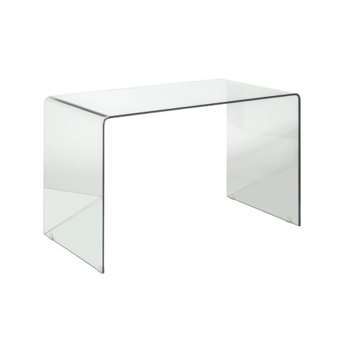 Mesa Oficina Transparente. Estructura cristal. Transparente.