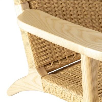 Sillón Haus. Estructura madera fresno. Natural.