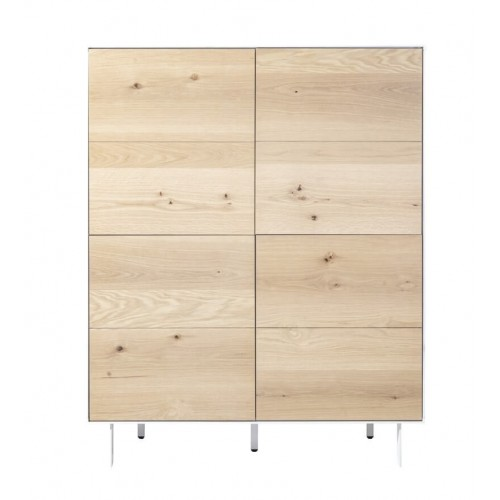 Mueble Silence Natural. Estructura madera DM. Chapa natural.