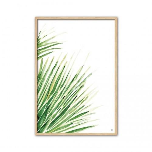 Cuadro Ortiz III. Estructura bastidor madera. Pintura por impresión. Camino a Casa.