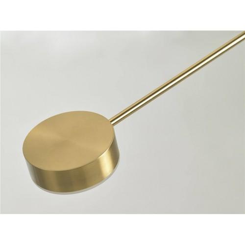 Lámpara Techo Cilinder. Estructura hierro y aluminio. Pintura. Dorado.