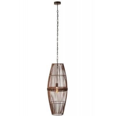 Lámpara Techo Delfos. Bambú. Natural