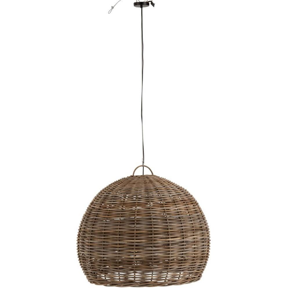Lámpara techo Rodas pequeña. Bambú. Natural.