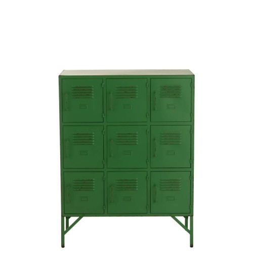 Gabinete Priene. Metal. Verde. J-Line.