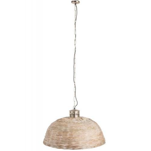 Lámpara techo Catania  mediana. Bambú. Natural.