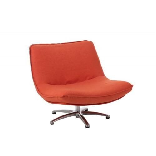 Silla Giro. Textil y metal. Naranja. J-Line.