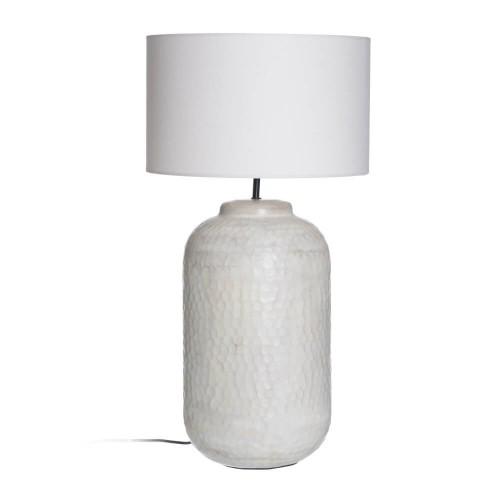 Lámpara mesa metal Hallein