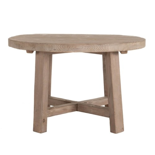 Mesa comedor redonda madera Stanton