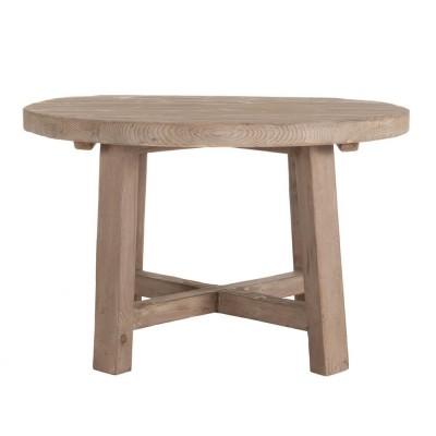 Mesa Comedor Stanton. Mesa comedor redonda madera. Denzzo.