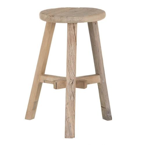Taburete madera olmo Tetbury