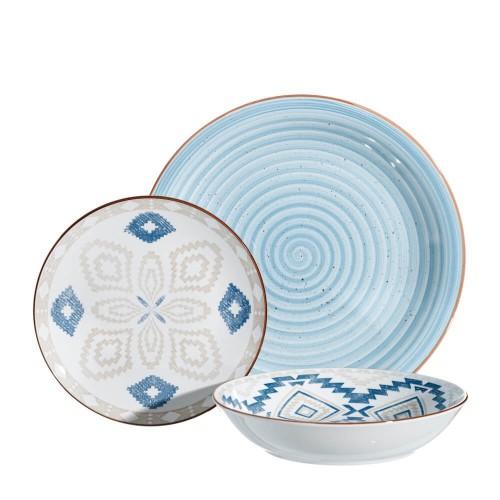 Vajilla 18 piezas porcelana Popayán
