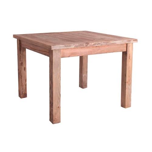 Mesa Taip. Mesa bar madera olmo reciclado natural. Vical.