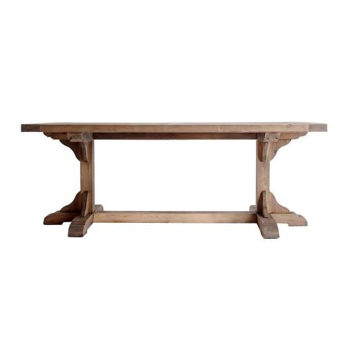 Mesa comedor natural madera pino Hyder