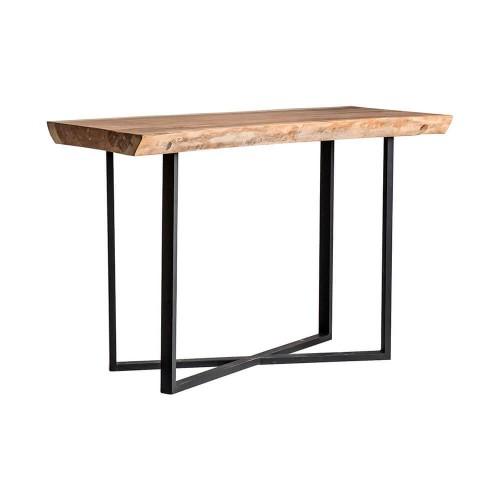 Mesa bar natural madera tropical Amber