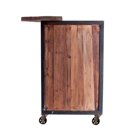 Aparador Yukón. Natural envejecido madera pino hierro. Vical.