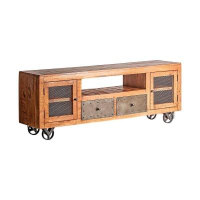Mueble TV Royal. Mueble televisor madera mango natural. Vical.