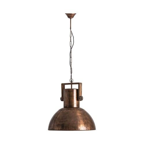 Lámpara techo color cobre hierro Turón