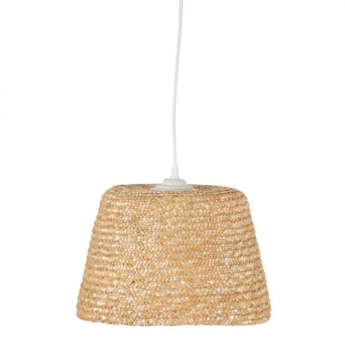 Lámpara Techo Utila. Lámpara de fibra natural de trigo. Natural. Ixia.