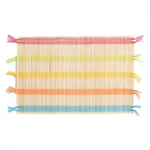 Mantel Individual Curazao. Mantel fibra natural. Multicolor. Ixia.
